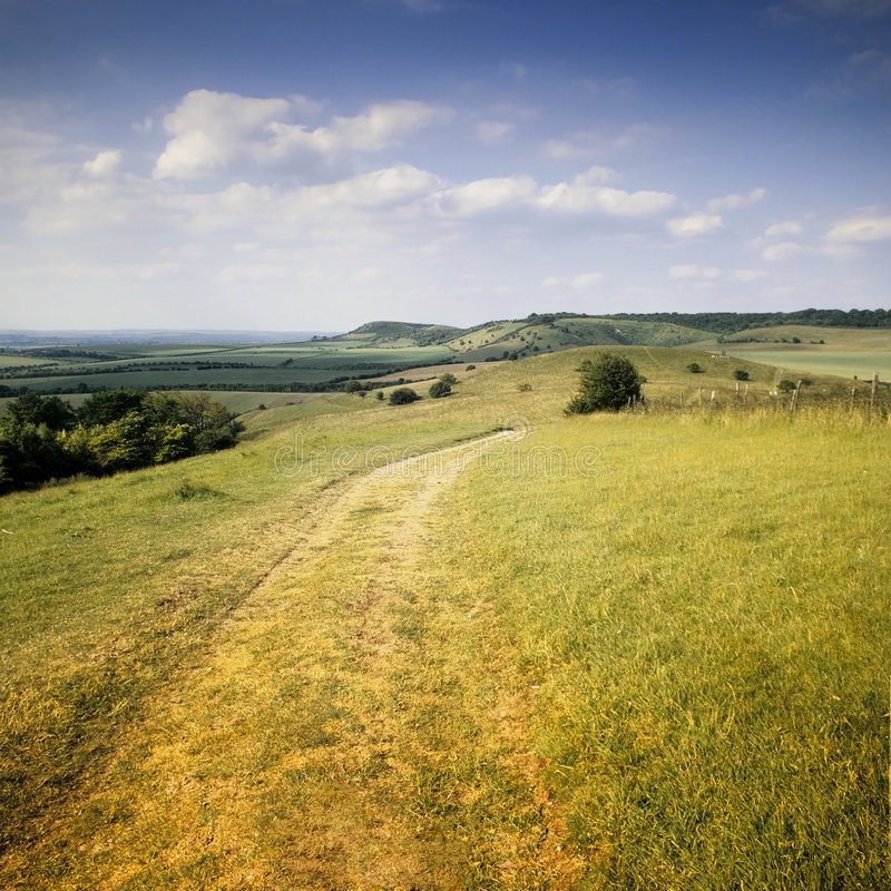 The ridgeway path royalty free stock photos