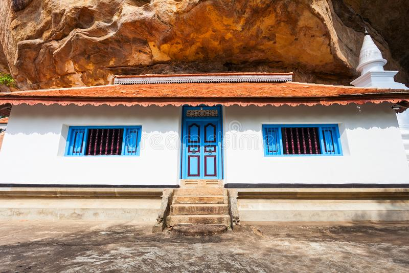 Ridi Viharaya寺庙,斯里兰卡 免版税库存图片