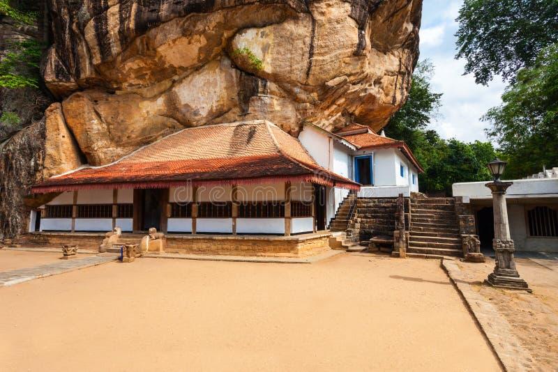 Ridi Viharaya寺庙,斯里兰卡 库存图片