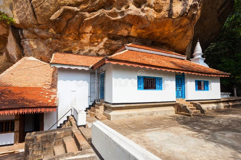 Ridi Viharaya寺庙,斯里兰卡 免版税图库摄影
