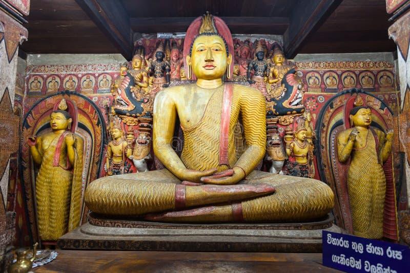 Ridi Viharaya寺庙,斯里兰卡 免版税库存照片