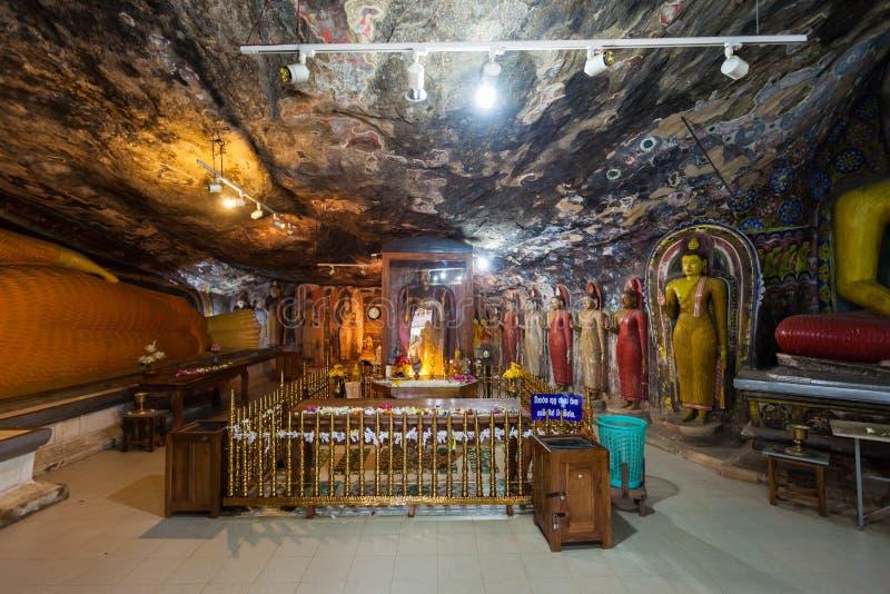 Ridi Viharaya寺庙,斯里兰卡 图库摄影