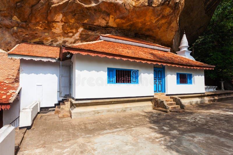 Ridi Viharaya寺庙,斯里兰卡 库存照片