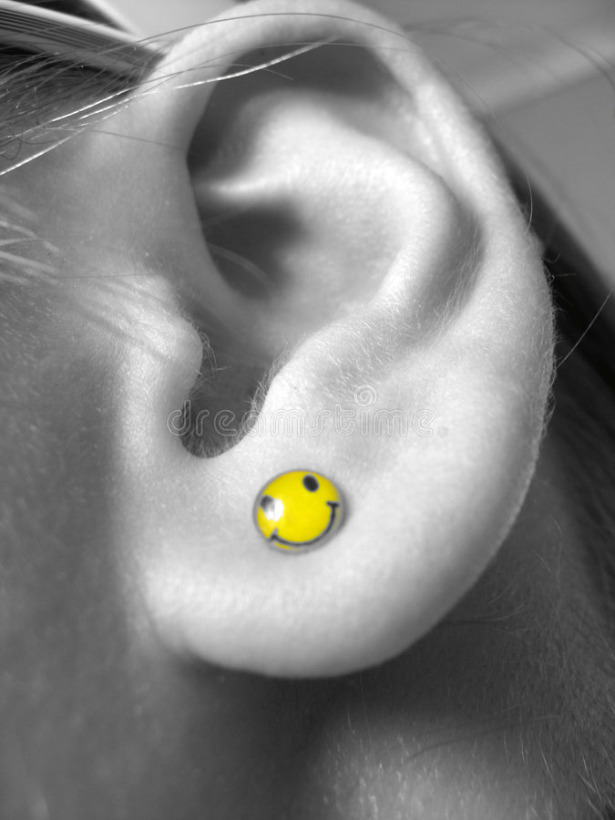 Ridiculous ear stock photos