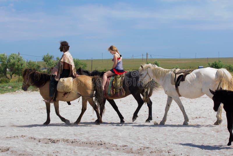 riding людей стоковые фото
