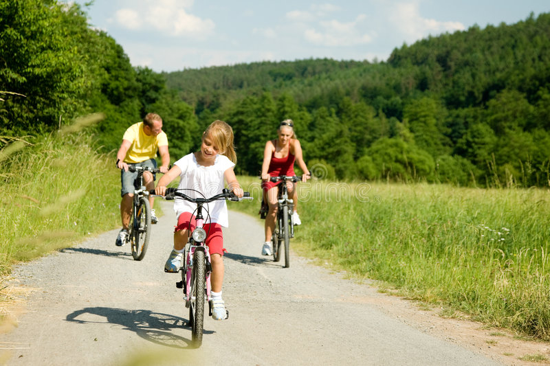 Download Riding The Bicycles Together Stock Photo - Image: 6417648