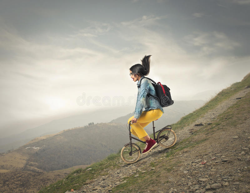 Download Riding a bike stock image. Image of african, cycle, risky - 31403547