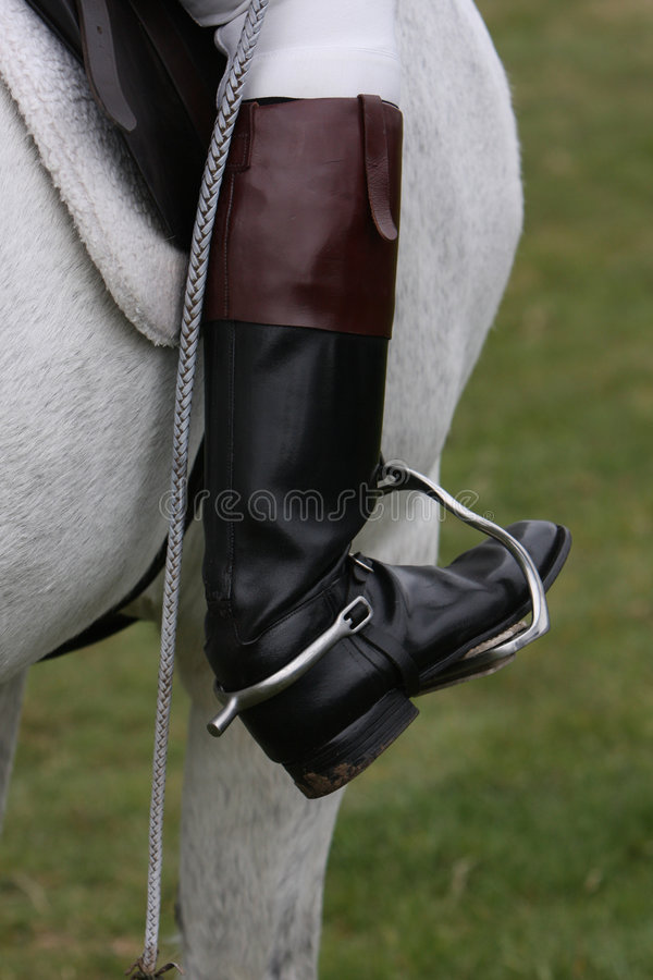 Free Riding Boot Stock Photography - 4950322