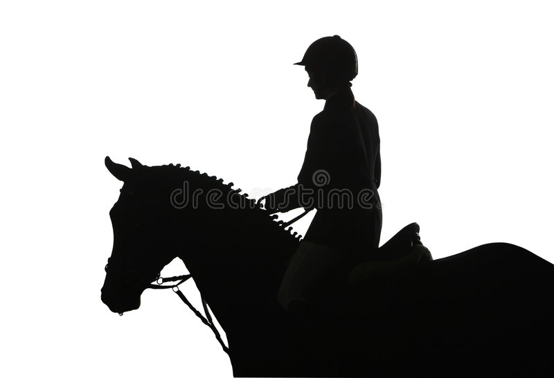 Riding competition royalty free stock photography