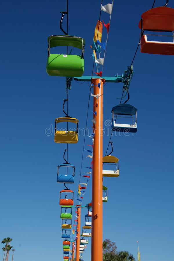 Riding High In The Sky royalty free stock photography
