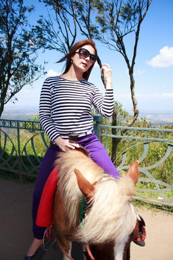 Download Riding horse at tagaytay stock image. Image of enjoying - 38542965