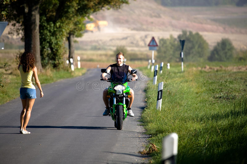 Download Riding the motorcycle stock photo. Image of woman, cruise - 11319916