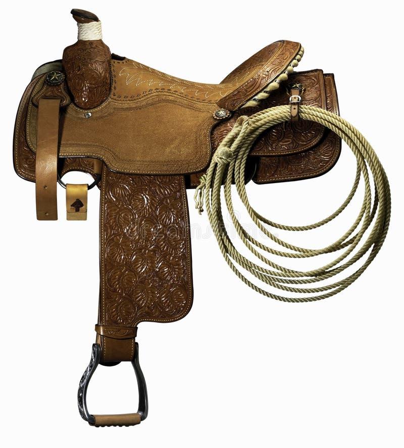 Riding saddle royalty free stock photo