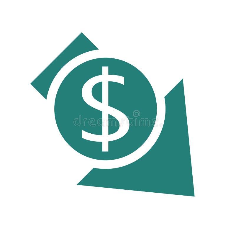 Riduca l'icona di costi royalty illustrazione gratis