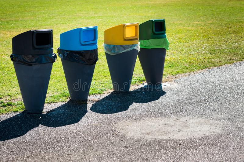 Riduca, riutilizzi e ricicli! immagine stock libera da diritti