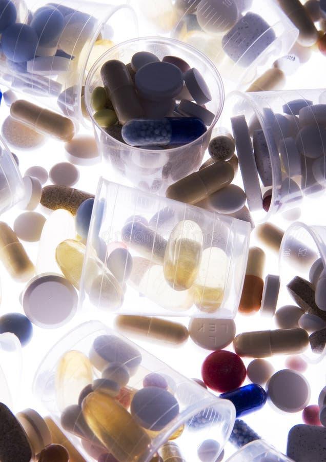 Ridurre in pani & medicine immagini stock