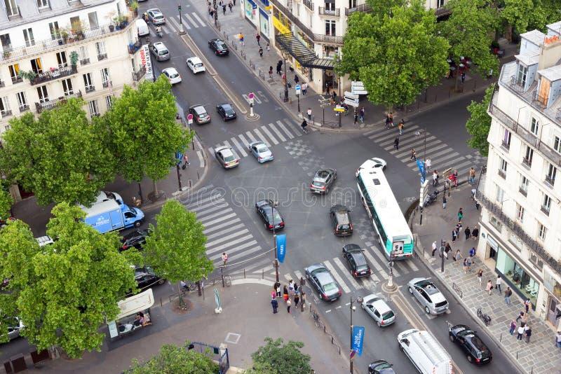 巴黎Rie de Rivoli 图库摄影