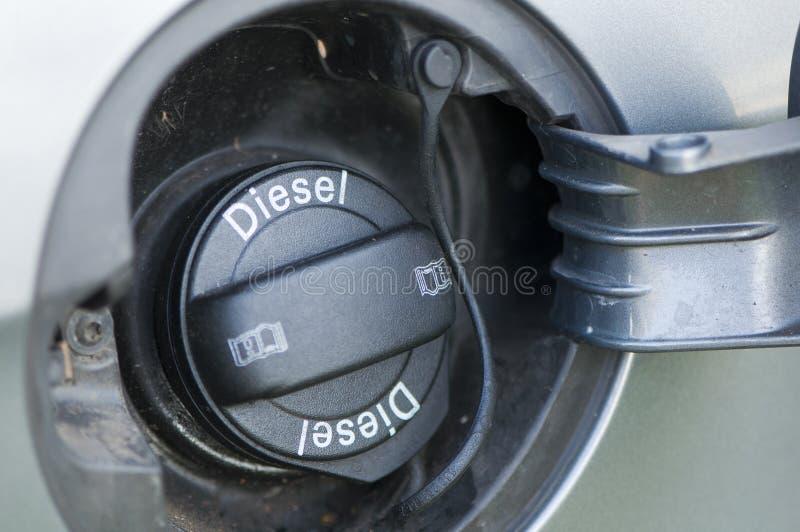 Riempitore del combustibile dell'automobile fotografia stock libera da diritti