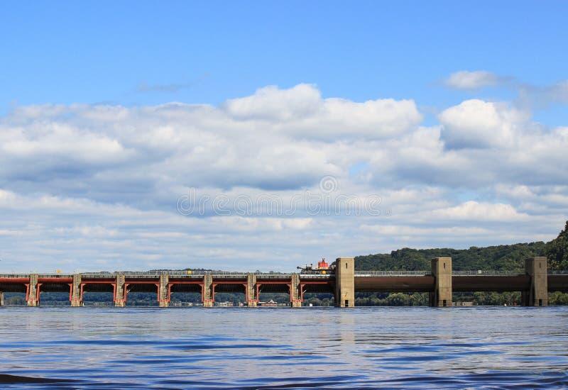 Rien du fleuve Mississippi photographie stock