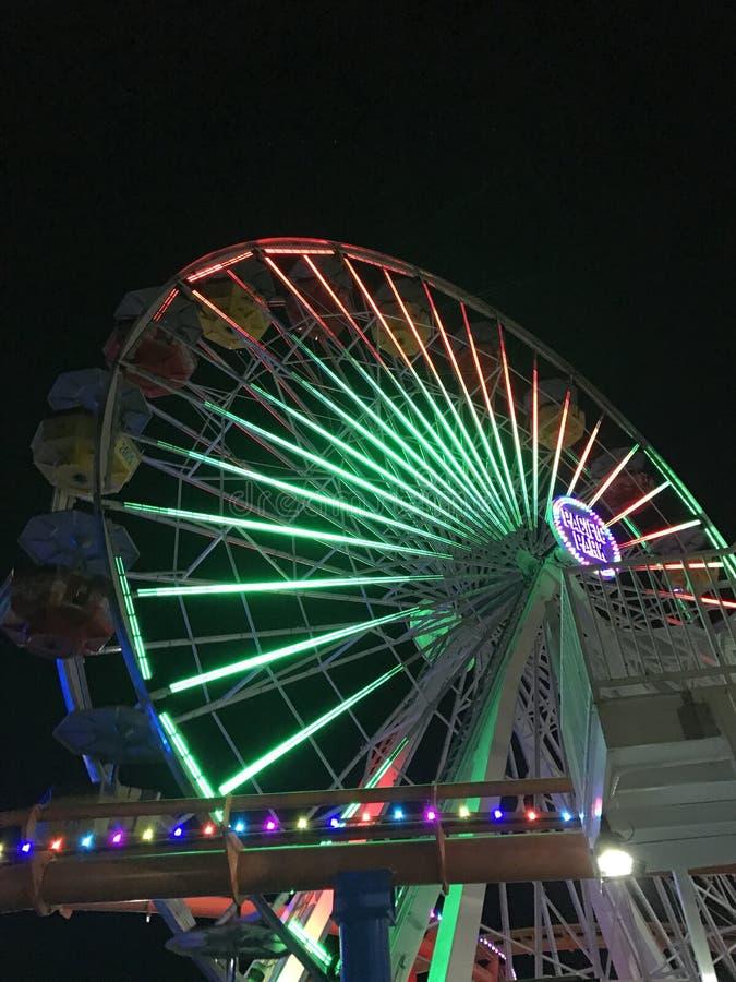 Riesenrad Monica- lizenzfreies stockfoto