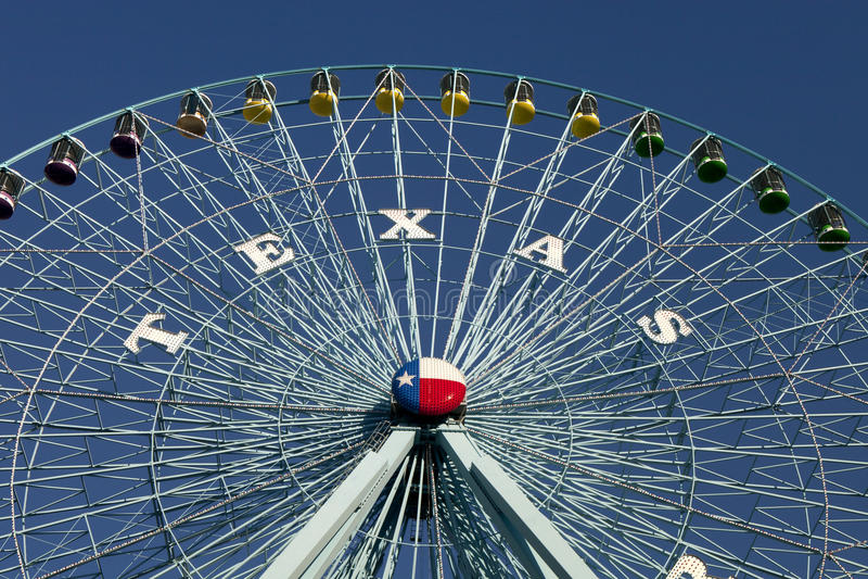 Riesenrad Texas- Redaktionelles Foto