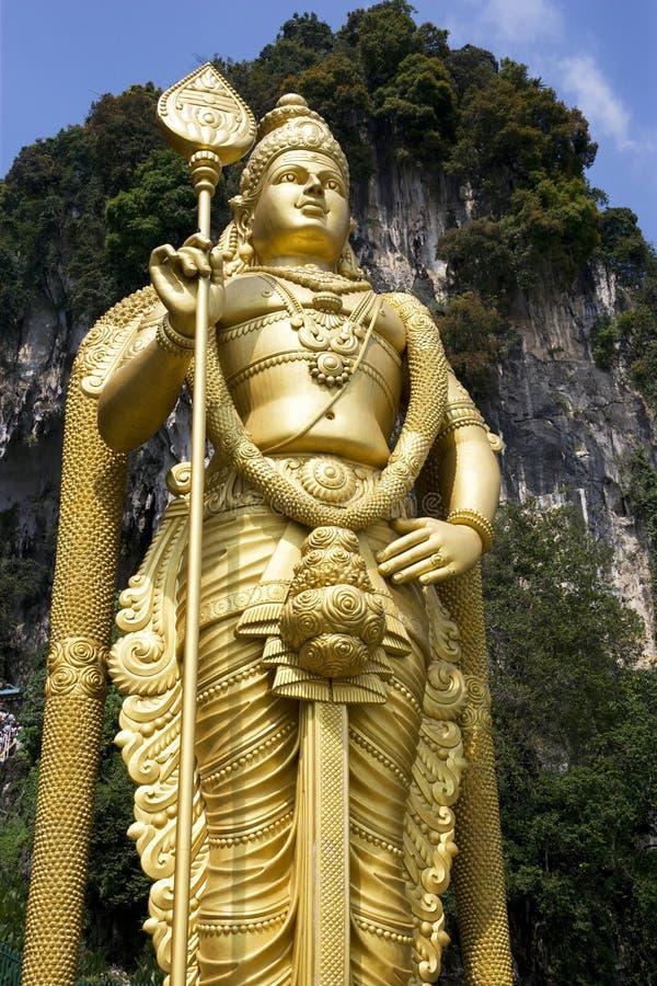 Riesige hinduistische Statue lizenzfreies stockbild