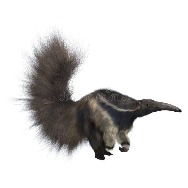 Riesiger Anteater stock abbildung