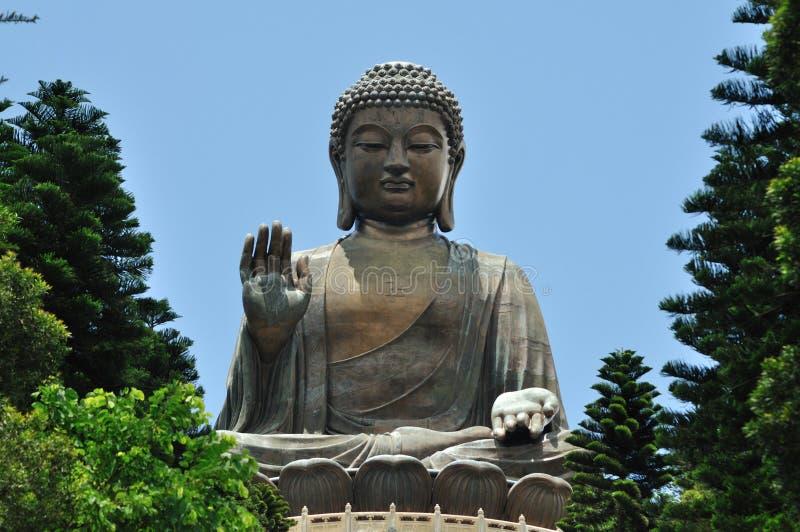 Riesiger Buddha lizenzfreie stockfotos