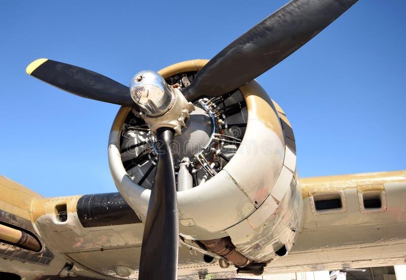 Riesiger Propeller lizenzfreies stockbild
