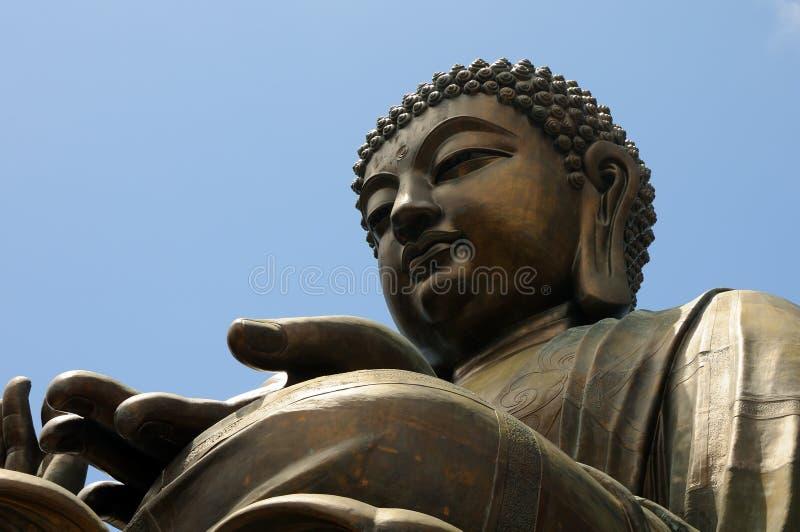 Riesiges Buddha/Po Lin Kloster lizenzfreie stockfotografie