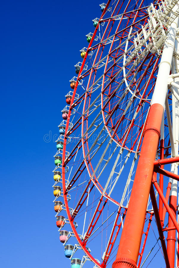 Riesiges Riesenrad stockfotos