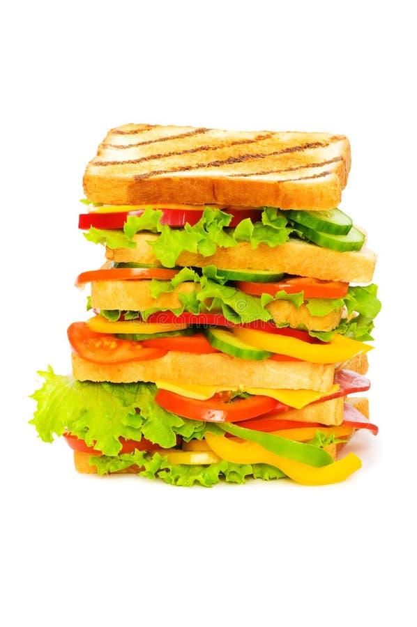 Riesiges Sandwich lizenzfreies stockfoto