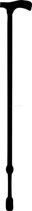 Riet - Wandelstok vector illustratie