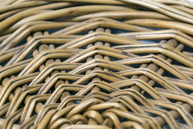 Rieten die panelen van takjes worden gemaakt royalty-vrije stock fotografie