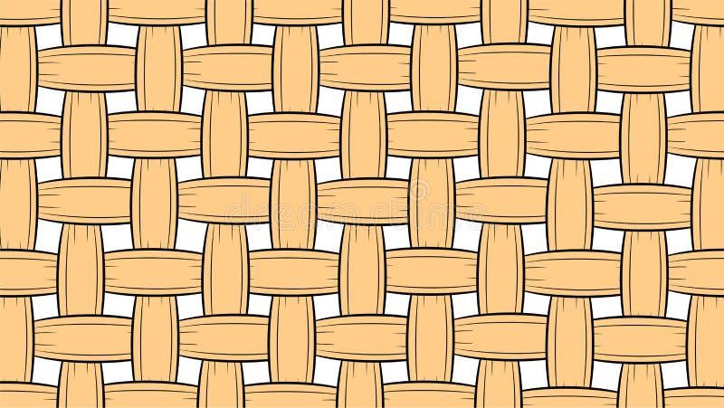 Rieten patroonachtergrond stock afbeelding