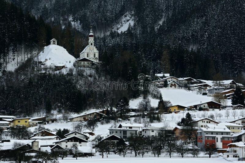 Rietz, Heiliger Antonius Church, el Tirol, Austria imágenes de archivo libres de regalías