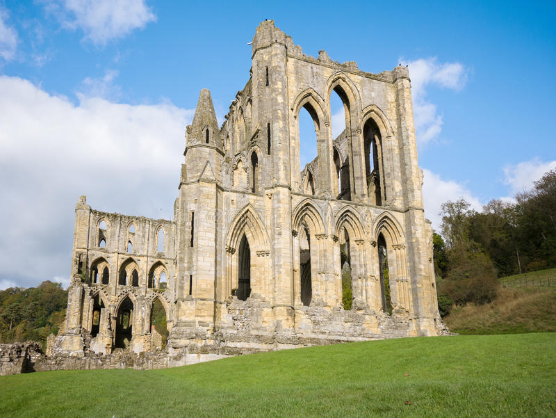 Rievaulx abbey royalty free stock images