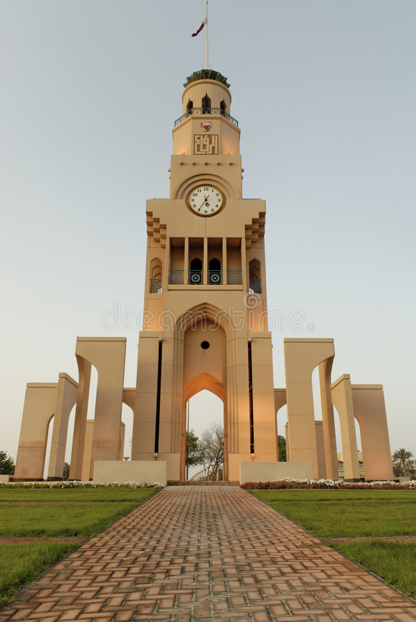 Free Riffa Clock Tower, Bahrain Stock Images - 5013834
