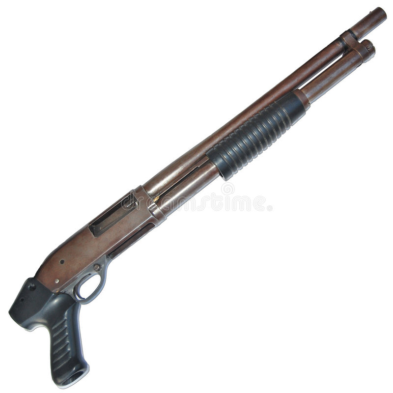 Rifle stock image