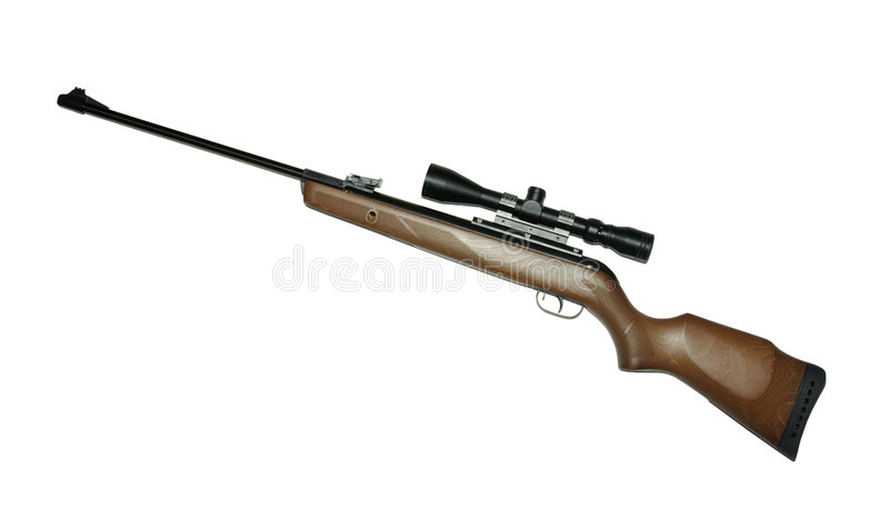 Rifle stock image