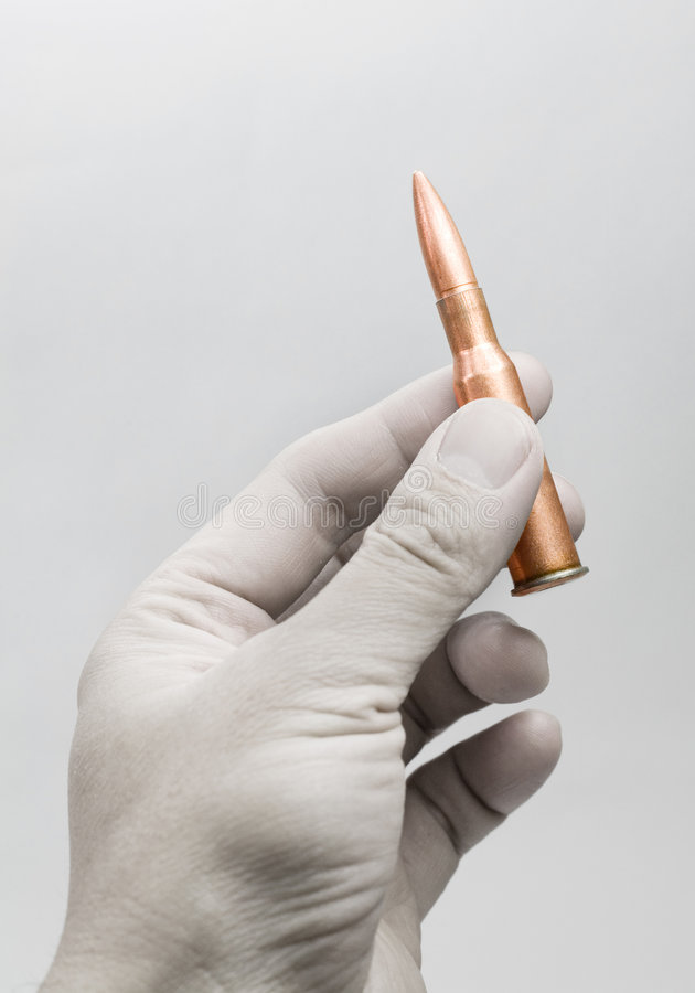 Download Rifle Bullet stock photo. Image of threaten, musket, holding - 3945158