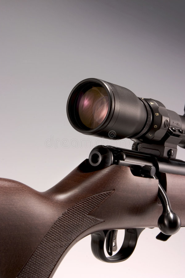 rifle com espaço imagem de stock royalty free