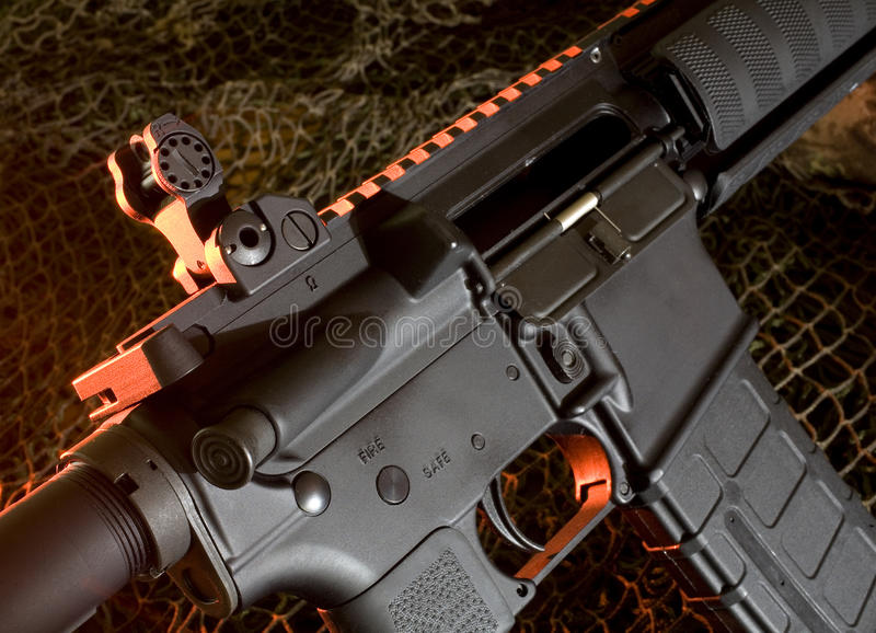 Rifle de asalto foto de archivo