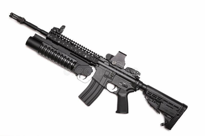 Rifle de asalto de espec. Ops M4A1 de los E.E.U.U. imagen de archivo libre de regalías