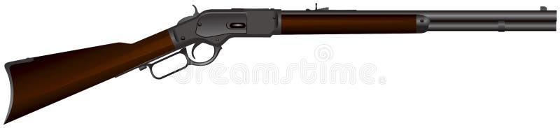 Rifle del oeste salvaje libre illustration