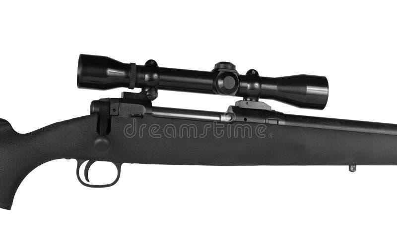 Rifle e espaço imagens de stock