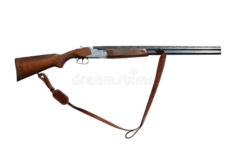 Rifle isolated on white background stock photos