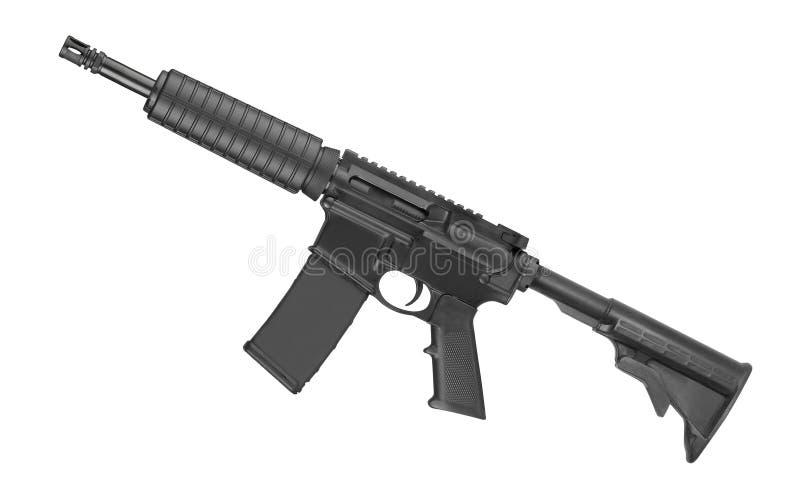 Rifle M4 de las fuerzas especiales aislado imágenes de archivo libres de regalías