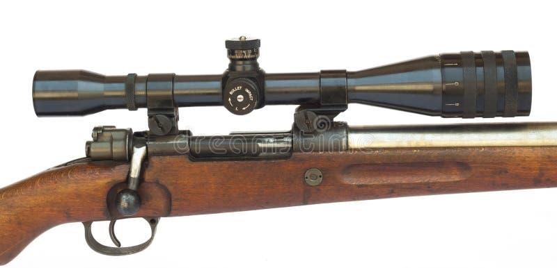 Rifle Scope stock photography