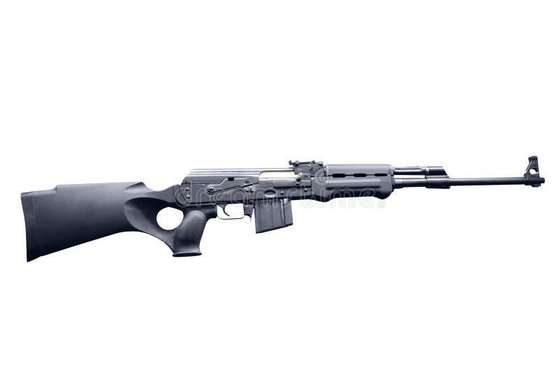 Rifle Semi Automático Modificado Da Caça De AK47 Imagem de Stock